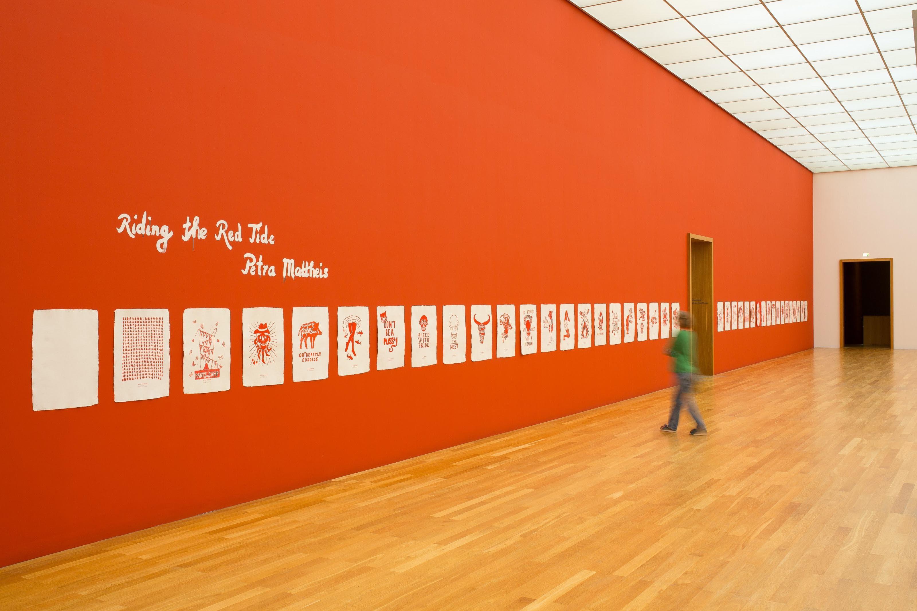 Regentaucher Fotografie | Kunstausstellung Riding the Red Tide im Mdbk Leipzig von Petra Mattheis