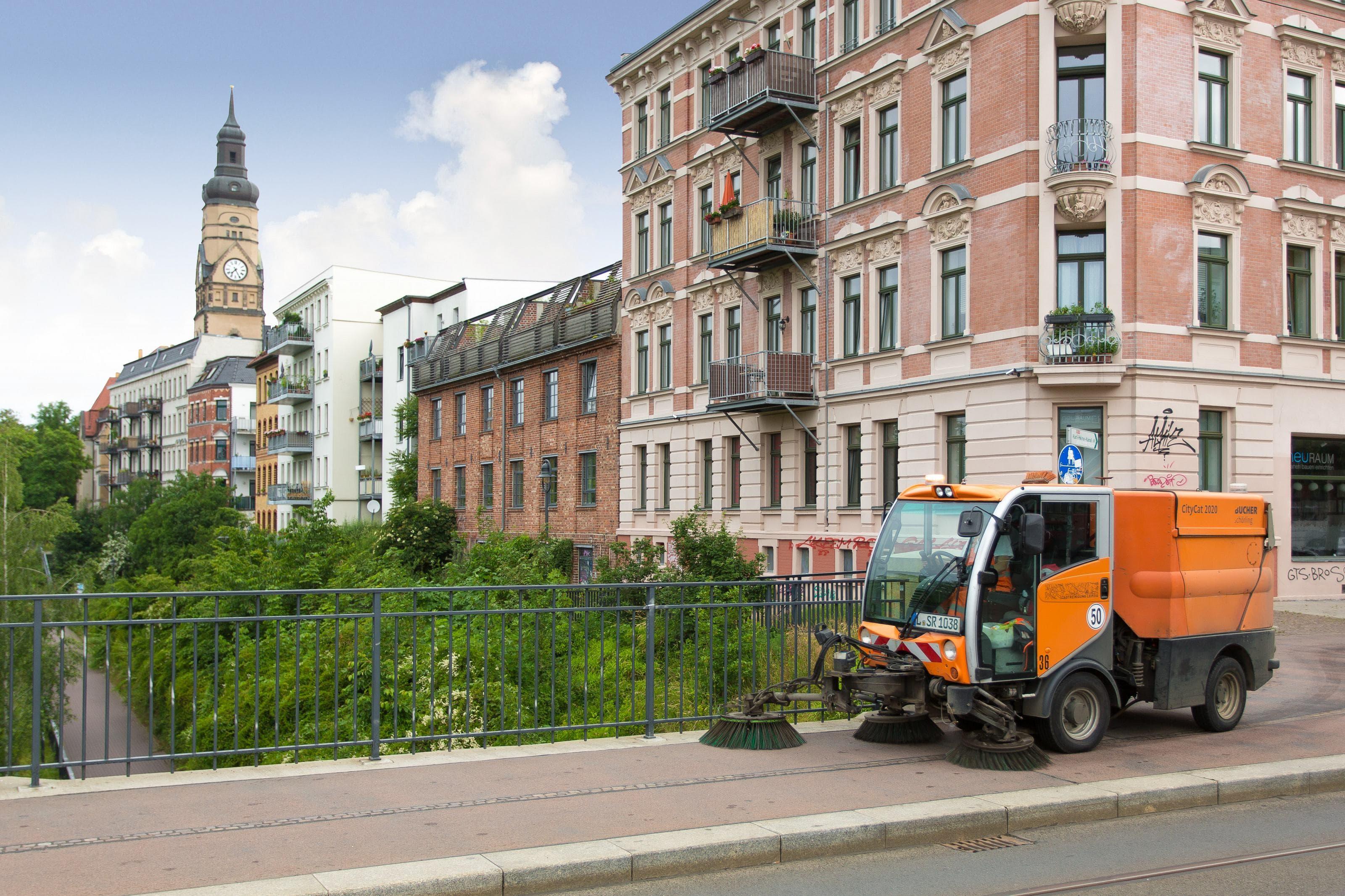 Regentaucher Fotografie | Stadtreinigung Leipzig